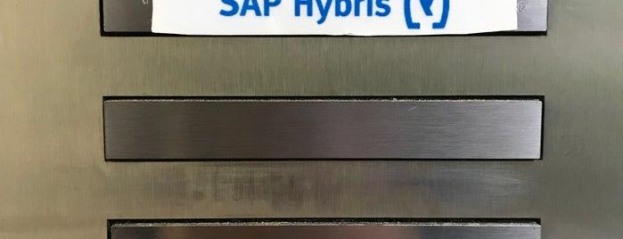 hybris GmbH is one of สถานที่ที่ Luis ถูกใจ.