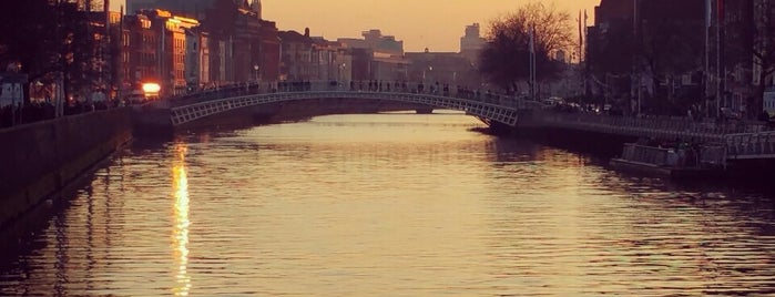 The River Liffey is one of Tempat yang Disukai Will.