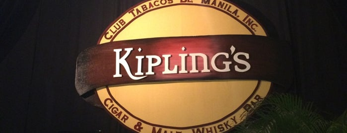 Kipling's Cigar Bar is one of Michael'in Kaydettiği Mekanlar.