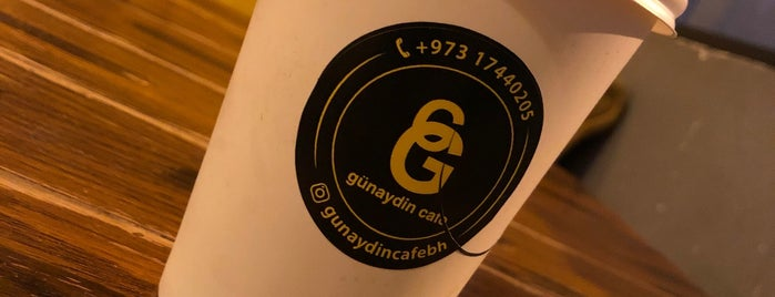 Gunaydin Cafe is one of Bahrain.