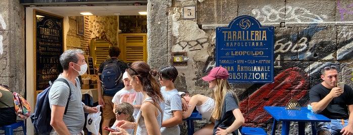Taralleria Napoletana is one of Napoli.