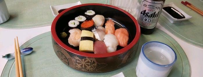 Gyosai-Sushi is one of Sushi Sampler.