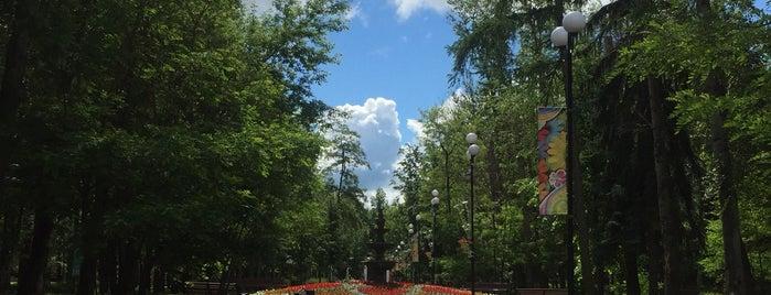 Парк на Красном Строителе is one of Это план!.