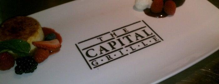 The Capital Grille is one of Tempat yang Disimpan Matt.