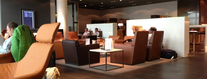 Lufthansa First Class Lounge A is one of Work.