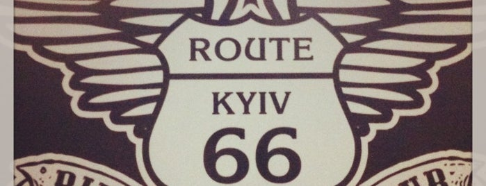 Route 66 is one of Kiyv.