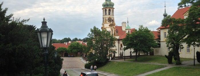 Loretánské náměstí is one of Prague.