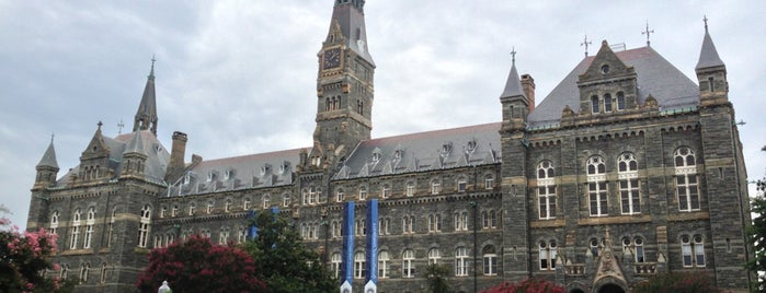 Università di Georgetown is one of DC - Must Visit.