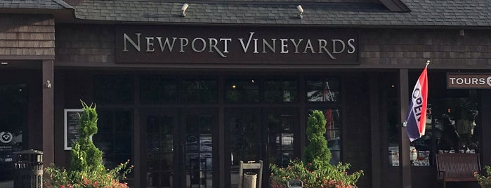 Newport Winery is one of สถานที่ที่บันทึกไว้ของ Shannon.