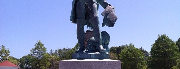 Rochambeau Statue is one of Newport favorites.
