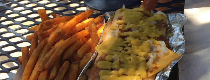 Pink's Hot Dog is one of Los Ángeles.