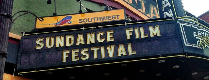 Egyptian Theatre is one of Sundance 2018.