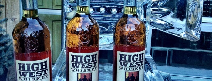 High West Distillery & Saloon is one of America's Top 20 Distilleries.