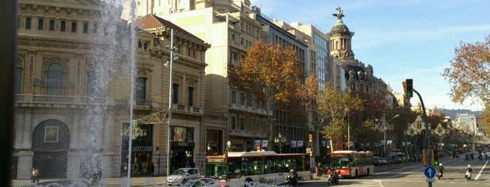 Gran Via de les Corts Catalanes is one of Barcelona must see's.