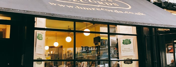 Harold Moores Records is one of London.