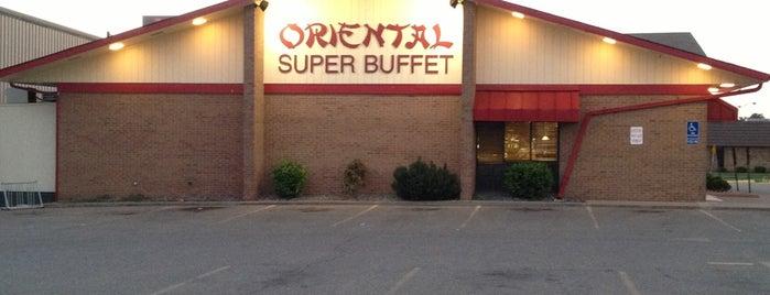 Oriental Super Buffet is one of สถานที่ที่ Jodi ถูกใจ.
