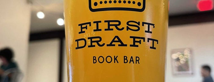 First Draft Book Bar is one of Drinks.