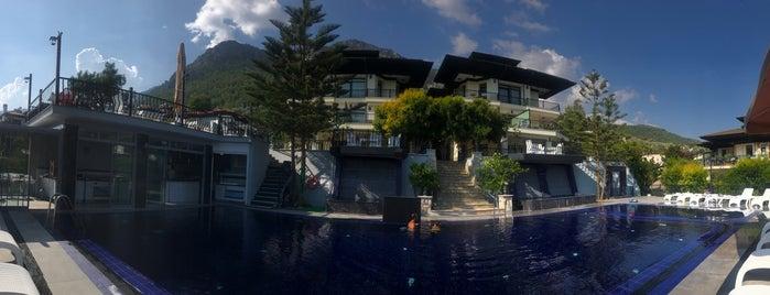 Villa Marine Apart Hotel is one of Tatil.