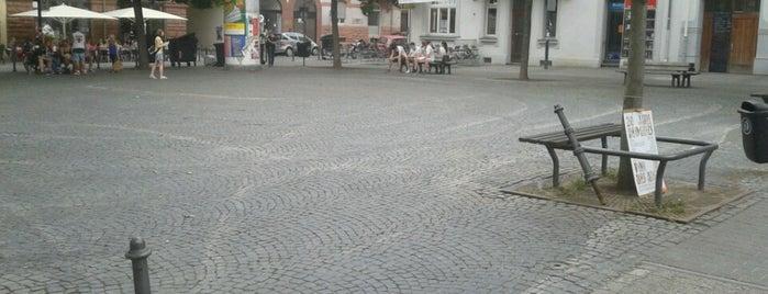 Riegerplatz is one of Darmstadt - must visit.
