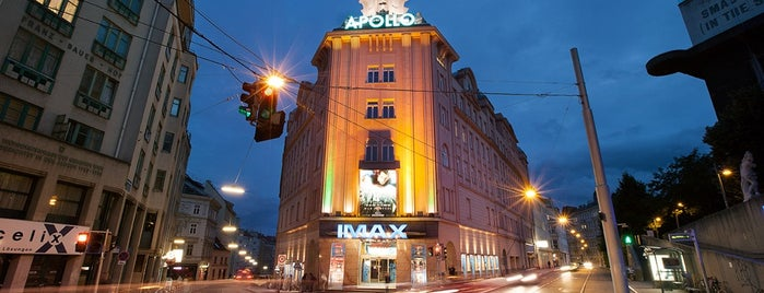 Apollo - Das Kino Wien is one of Lieux qui ont plu à Helena.
