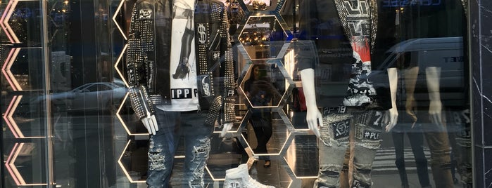 Philipp Plein Store is one of NY stores.