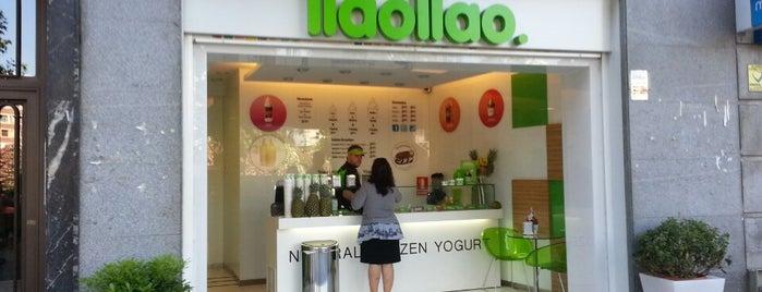llaollao is one of Tempat yang Disukai Tanya.