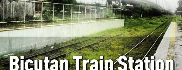 PNR South - Bicutan Station is one of Paranaque.