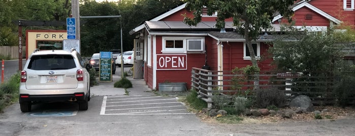 Fork Roadhouse is one of Santa Rosa & Sonoma Co. Patios.