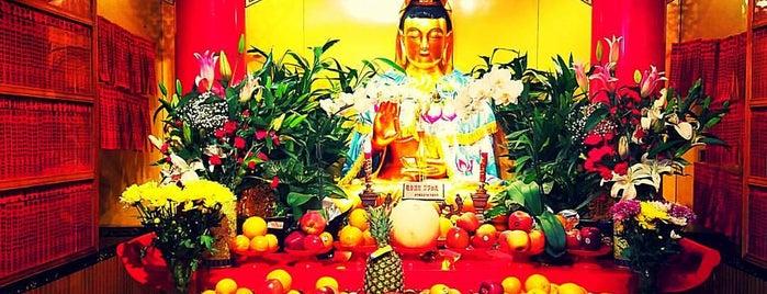 Mahayana Buddhist Temple is one of Crystal : понравившиеся места.