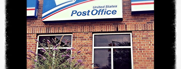 US Post Office is one of Crystal : понравившиеся места.