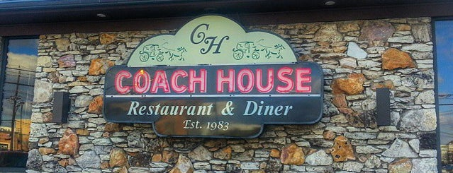 Coach House Diner & Restaurant is one of Crystal : понравившиеся места.