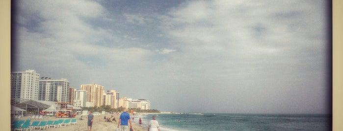 Miami Beach is one of Crystal : понравившиеся места.