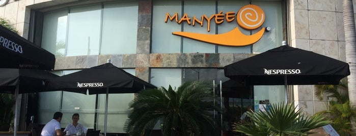 Manyée is one of Cancún (Lugares por probar).