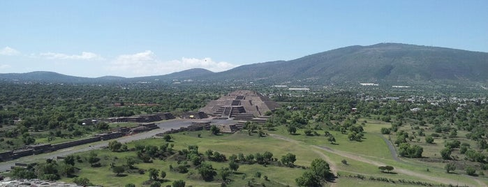 Zona Arqueológica de Teotihuacán is one of Mexico, D.F., 2013.