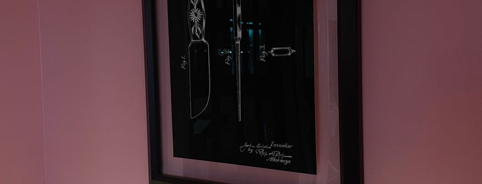 The Glass Knife is one of Orlando.