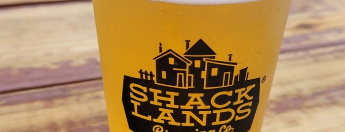 Shacklands Brewing is one of Want to Go.