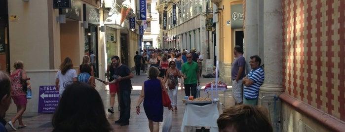 Calle Nueva is one of Málaga.