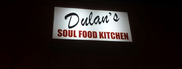 Dulan's Soul Food Kitchen is one of Soul Food.
