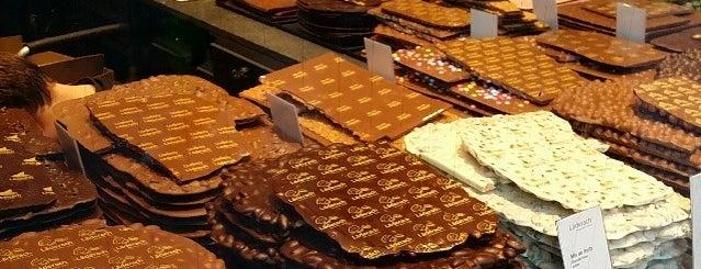 Läderach is one of Geneve: Tour de Chocolate.