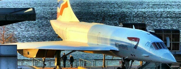 British Airways Concorde (G-BOAD) is one of Tempat yang Disukai Carl.