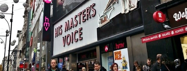 hmv is one of London.