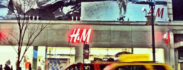 H&M is one of Top places!.