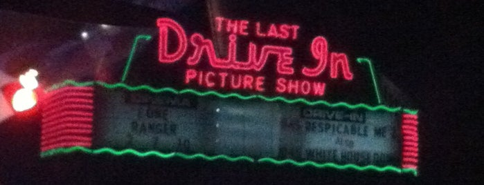 Last Drive-In Picture Show is one of TAKE ME TO THE DRIVE-IN, BABY.