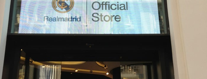 Real Madrid Official Store is one of madrid.