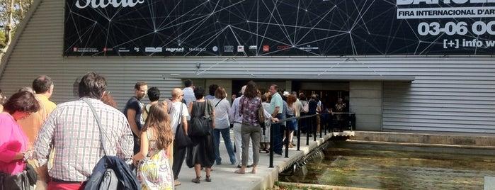 SWAB Barcelona - Feria Internacional de Arte Contemporáneo is one of barcelona • art.