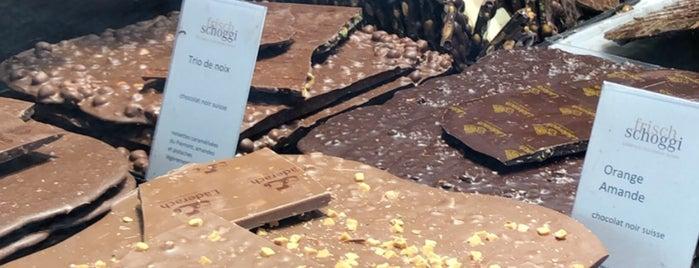Läderach Chocolatier is one of Geneva.