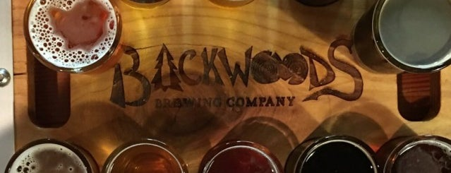 Backwoods Brewing is one of Portland, OR.