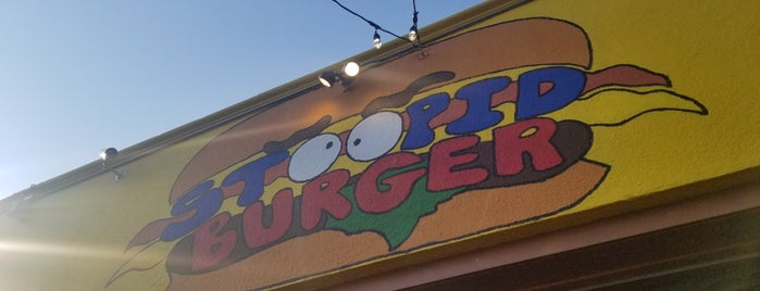 Stoopid Burger is one of Lugares guardados de Dat.