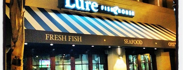 Lure Fish House is one of Tempat yang Disukai st.