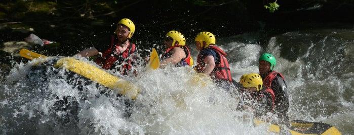 Melen Çayı Rafting is one of Akçakoca Gezilcek Görülecek Yerler.
